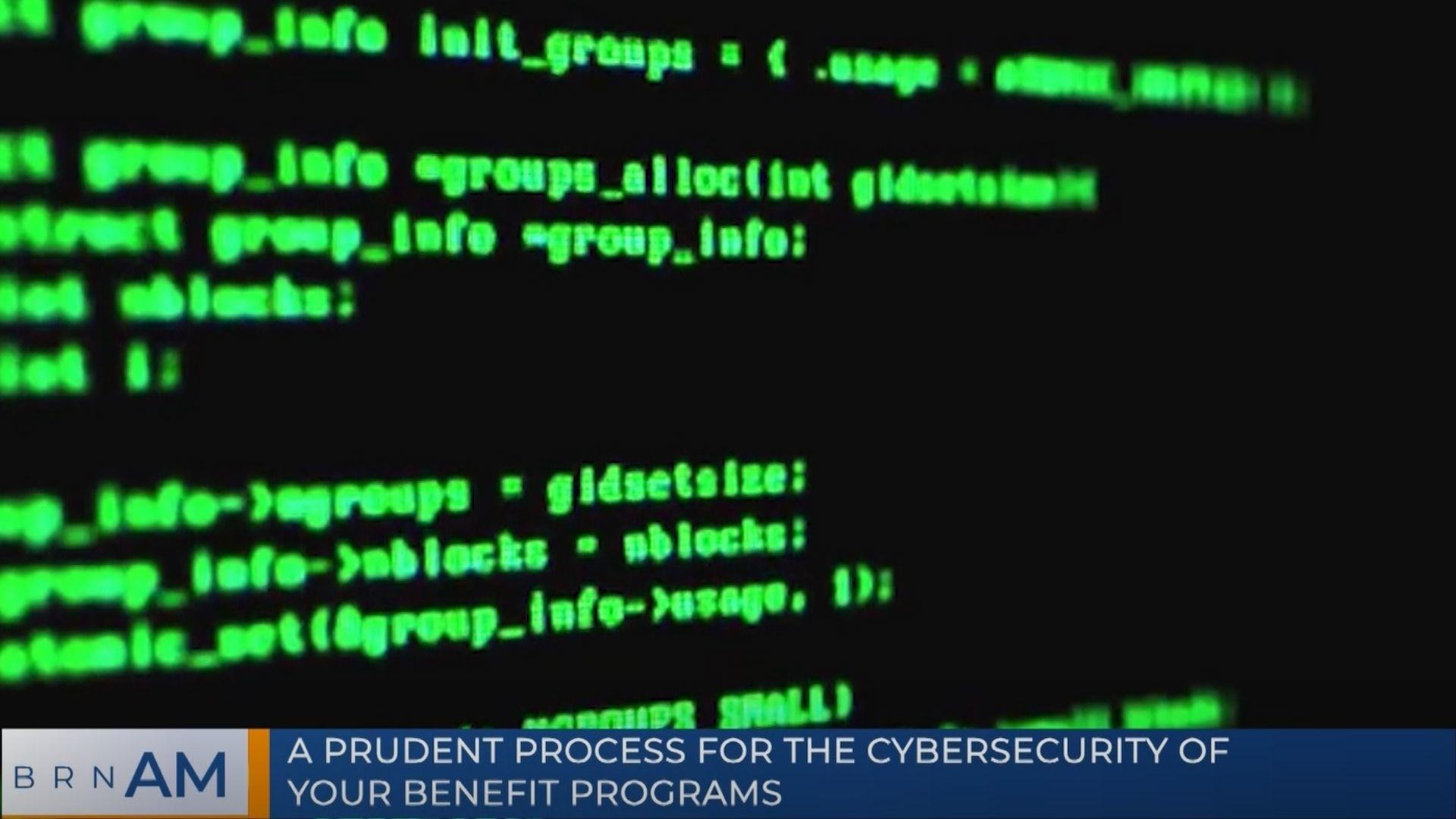 BRN AM | A prudent process for the cybersecurity of your benefit programs