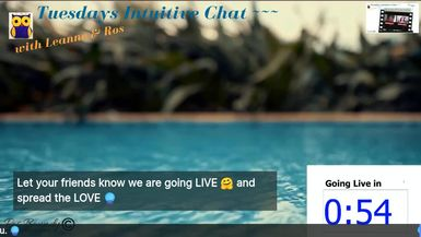 Tuesdays Intuitive Chat with Leanne & Ros - 16th June 2020  Click here for the Livestream: