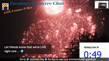 Tuesdays Intuitive Chat with Leanne & Ros - 26th May 2020  Join in for an hour of Fun & Chatt