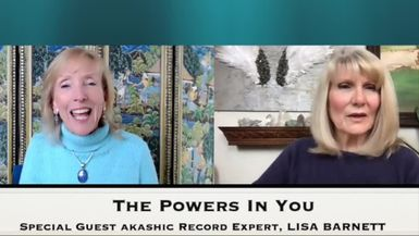 THE POWERS IN YOU- EPISODE 20 - LISA BARNETT - AKASHIC RECORDS EXPERT