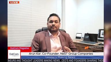 Arun Kar and Chintan Panara, Co-founders, NeST Group of Companies, DotCom Magazine Interview