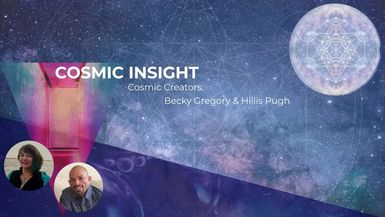 WELCOME TO THE COSMIC PARTY WITH SPECIAL GUEST HONI B (COSMIC INSIGHT)