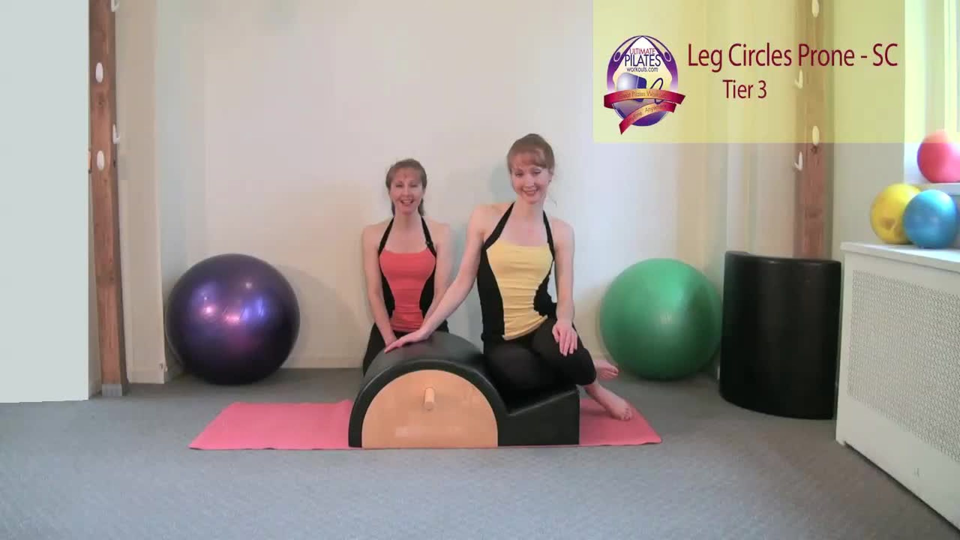 Leg Circles Prone on the Spine Corrector