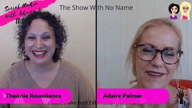 The Show with No Name: Rosemary Jacobs from Craigs Table