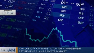 BRN AM | Availability of State Auto-IRAs Complement Retirement Plans Private Market