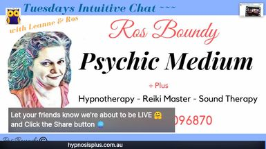 Tuesdays Intuitive Chat with Leanne & Ros - 24th December 2019 Christmas EVE ...  Join