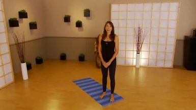 YogaFit Beginners 45 minute workout with Beth
