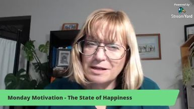 Monday Motivation - The Act of Happiness
