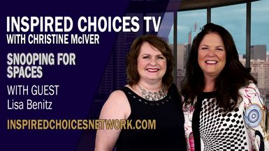 Inspired Choices with Christine McIver - Snooping For Spaces Guest Lisa Benitz
