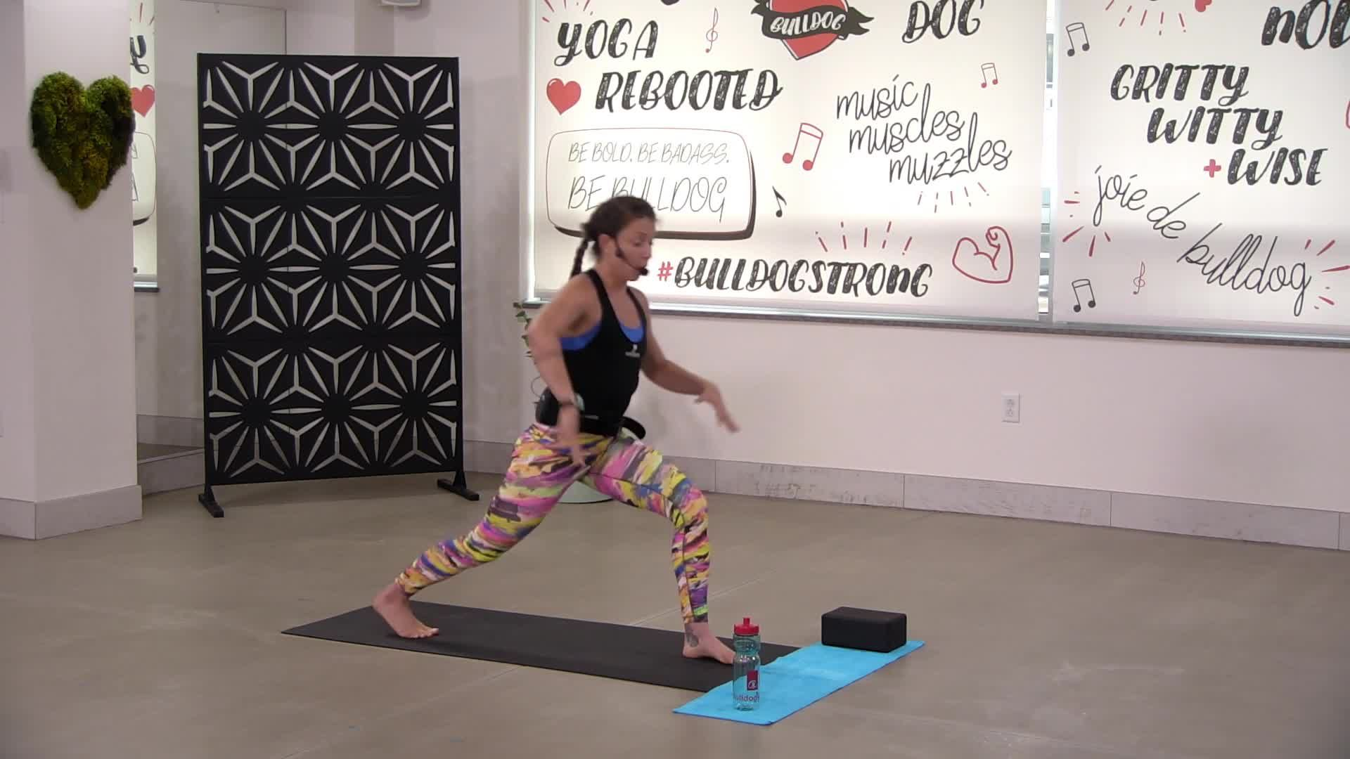 Yoga/Kickboxing Bootcamp 2