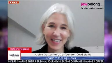 Archie Gottesman, Co-Founder, JewBelongLeading Jewish activist A DotCom Magazine Exclusive Intervie