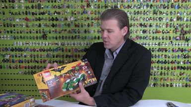 LEGO Batman Movie Review : The Riddler Riddle Racer