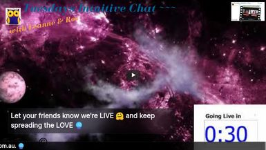 Tuesdays Intuitive Chat - 14th July 2020