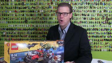 LEGO Batman Movie Review : Killer Croc Tail-Gator