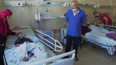 Los niños sufren el conflicto palestino-israelí