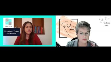 Radio Toni Everyday Business with Vandana Tolani