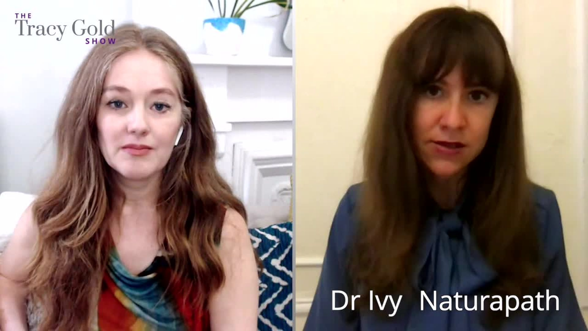 How to Treat Menopause Naturally With Dr Ivy Branin - Tracy Gold Show