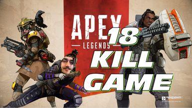 18 K GAME!! Turkey Leg Duos   Apex Legends