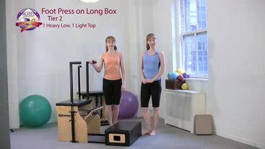 Foot Press on Long Box