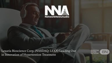 NetworkNewsAudio News-Lexaria Bioscience Corp. (NASDAQ: LEXX) Leading Out in Innovation of Hypertension Treatment