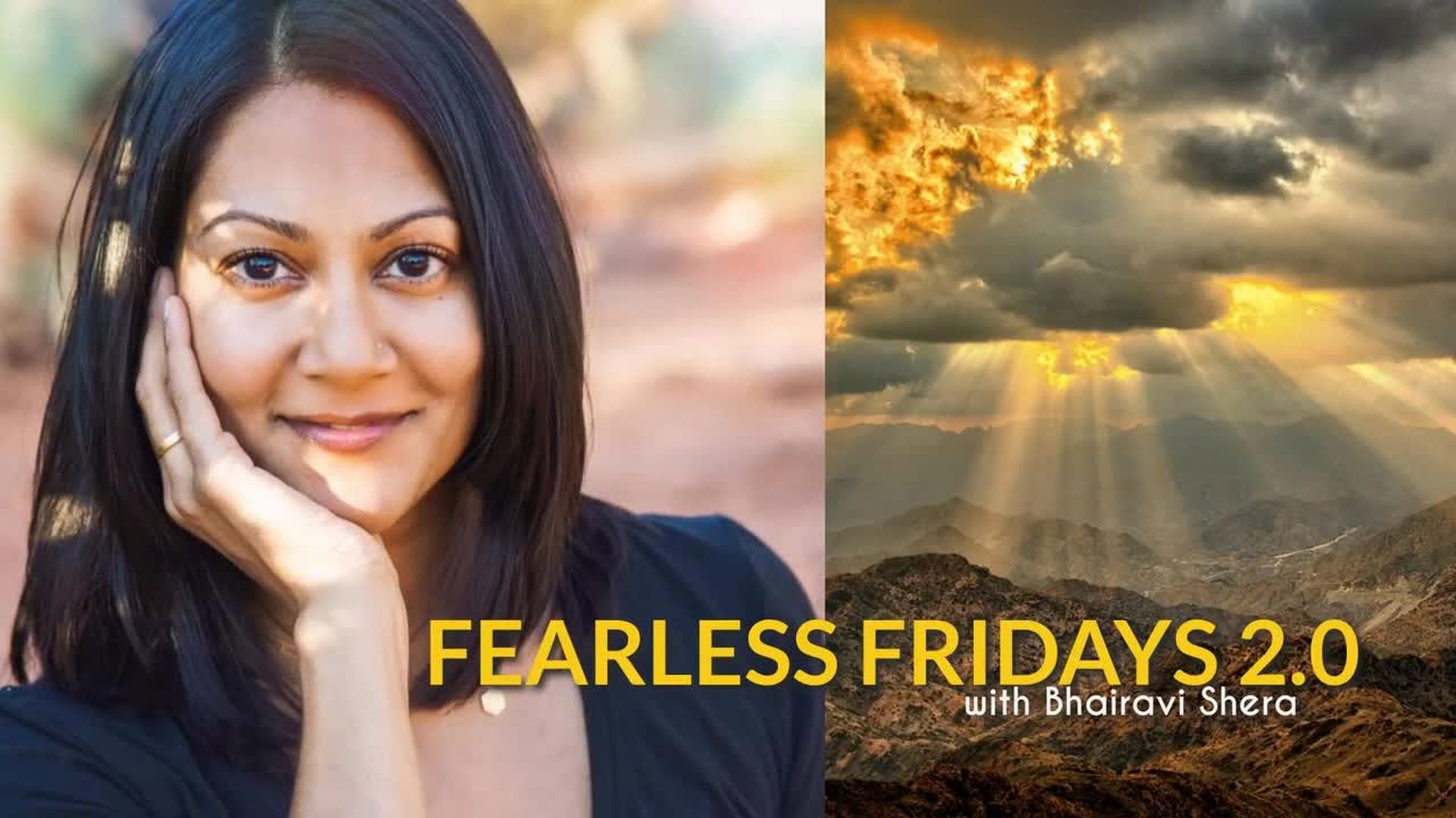 TRADING FEAR FOR LOVE WITH SPECIAL GUEST HANNAH RABAR (FEARLESS FRIDAYS 2.0)