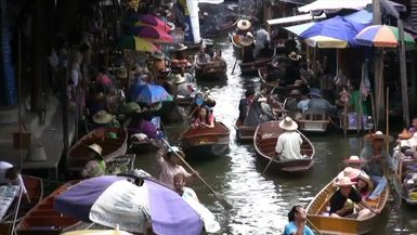 ThailandTV-Thailand Part 5 - Floating Market and the River Kwai(