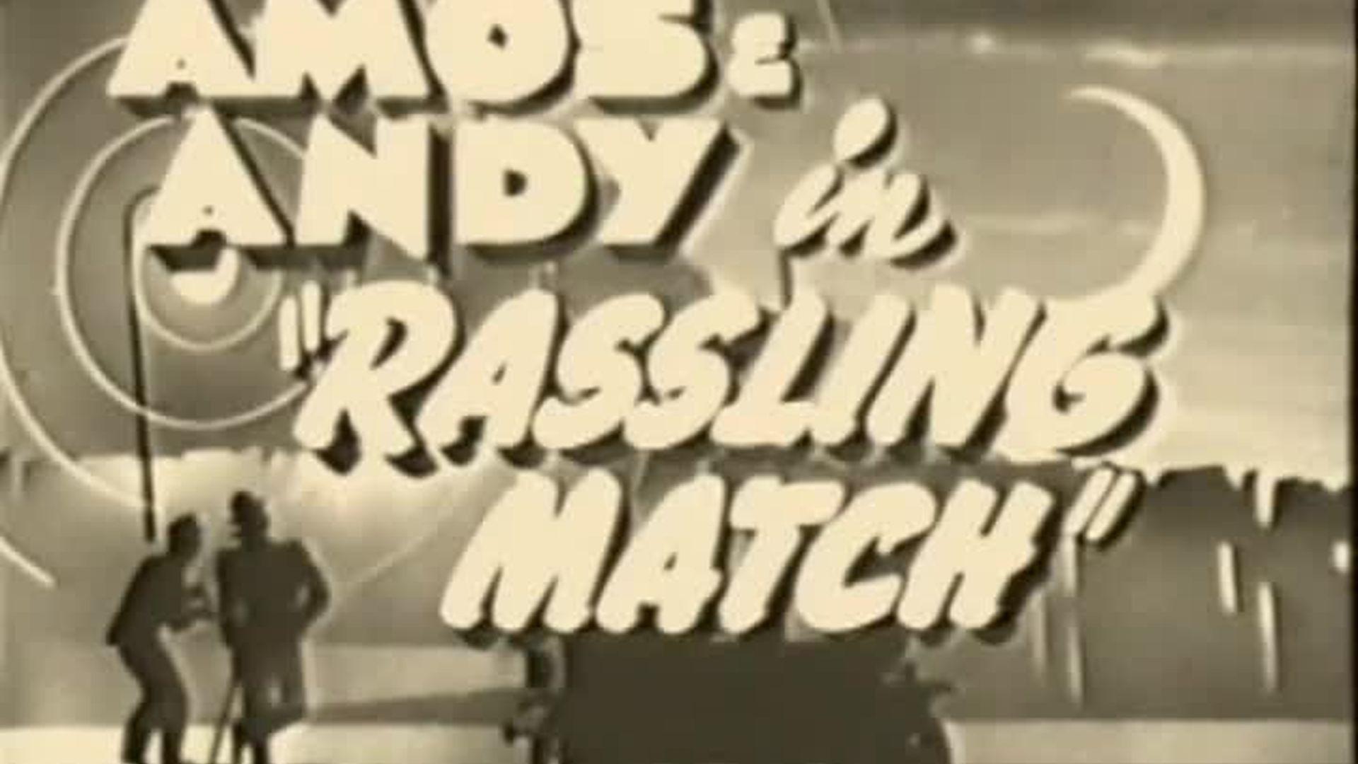 Rasslin' Match