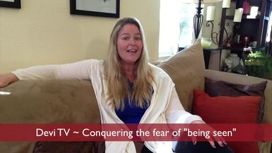 DEVI TV - HOW TO OVERCOME INTERNET STAGE FRIGHT