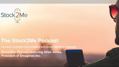 Stock2Me-Stock2Me Podcast featuring Allan Jones, President of Emaginos Inc.