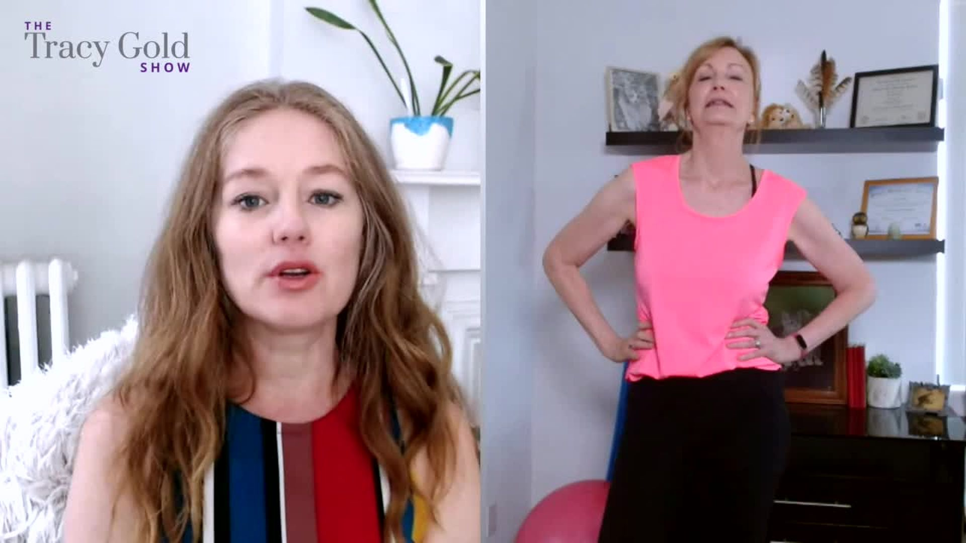 How to Get Fit Over 50 With Amy Van Liew Part 3 - Tracy Gold Show