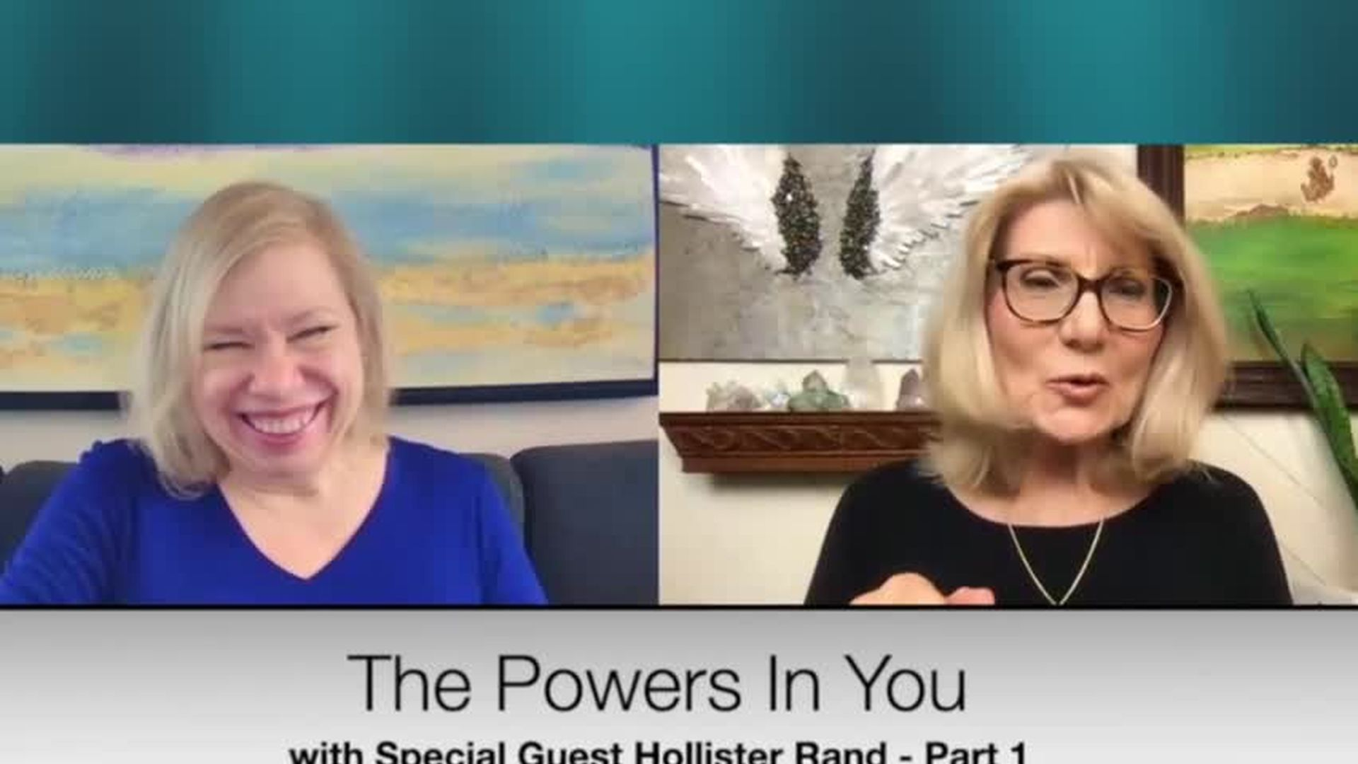 THE POWERS IN YOU- EPISODE 12 - HOLLISTER RAND, INTERNATIONAL MEDIUM -  PART 1