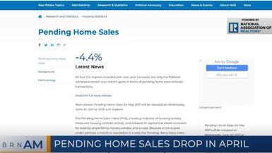 BRN AM | Pending home sales drop in April