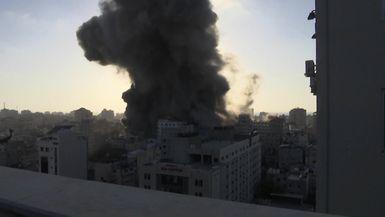 Guerra abierta entre Israel y Hamás