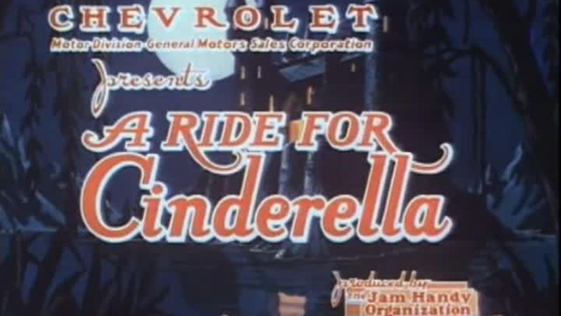 A Ride for Cinderella