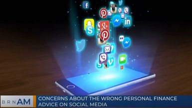 BRN AM   Concerns about the wrong personal finance advice on social media