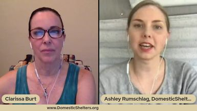 Clarissa Interviews Ashley Rumschlag, VP of Digital Services for Domestic Shelters