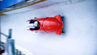 Episode 13 - 70+ MPH in a BOBSLED!