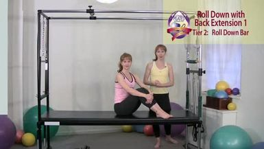 Roll Down with Back Extension 1