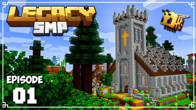 Legacy SMP - Ep. 01 - A CHAPEL FULL OF BEES!