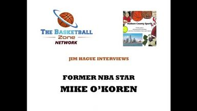Jim Hague's Hudson County Sports Podcast- Former NBA star MIKE O'KOREN