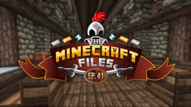 The Minecraft Files - #297 Medieval Town Hall INTERIOR!