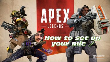 How to set up your mic   Apex Legends