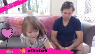 #ElsieCraft Join Elsie & Nige as they got for take 2 making slime!