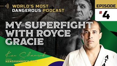Ken Shamrock Talks About his Super-fight with Royce Gracie (E:4) #UFC5
