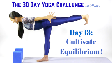 VISIONARY YOGA TV -  PREVIEW: Day 13 of The 30 Day Visionary Yoga Challenge: Cultivate Equilibrium