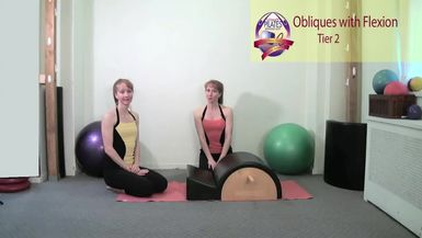 Obliques with Flexion on the Spine Corrector