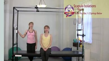 Scapula Isolations Springs from Below