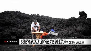 Volcán Pacaya | Cómo preparar una pizza volcánica