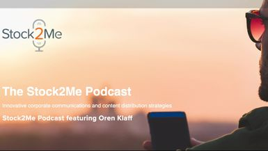 Stock2Me-Stock2Me Podcast featuring Oren Klaff