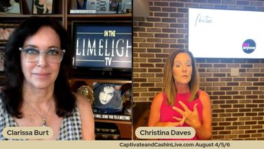 Christina Daves In the Limelight with Clarissa Burt